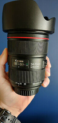 Canon EF 24-70mm F/2.8L II USM Lens with EW-88C Lens Hood - Excellent condition