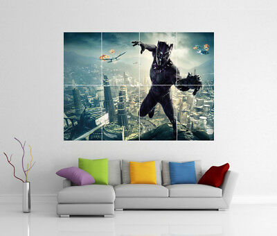 Black Panther Avengers Infinity War Marvel Giant Wall Art Photo Print Poster