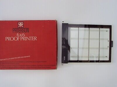Paterson 6 x 6 Proof Printer Product No. 620