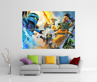 A0 A1 A2 A3 A4 Sizes The Lego Movie Giant Poster
