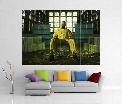 """BREAKING BAD HEISENBERG NEW LARGE ART PRINT POSTER PICTURE WALL 33.1/""""x23.4/"""""""