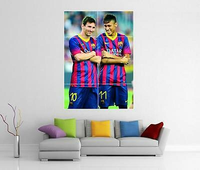 Lionel Messi  Giant 1 Piece  Wall Art Poster SP223