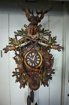 Musical Black Forest Cuckoo Clock