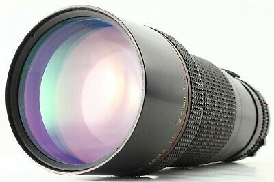 【 Exc +++++ 】 Canon New FD NFD 300mm f/4 L Telephoto MF Lens + Tripod From JAPAN