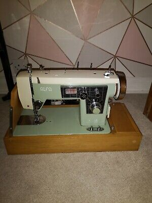 Vintage Alfa 206 Electric Sewing Machine