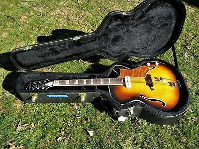 """Eric Schulte Epiphone Archtop Guitar, P-90 Style Pickup, 17 1/4"""" Body, Unplayed"""