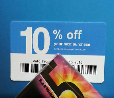 Twenty (20) LOWES Coupons 10% OFF At Competitors ONLY not Lowes NOVEMBER 15 2020