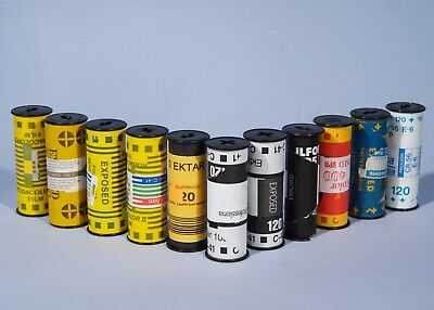 11 EXPOSED 120 Roll Film *