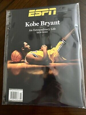 SHIP NOW ESPN Kobe Bryant Magazine An Extraordinary Life 2020 Special Packaging