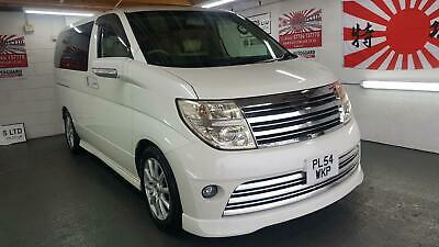 Nissan elgrand rider white automatic 8 seater fresh import in stock