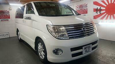Nissan Elgrand 3.5 automatic 8 seater white twin sunroof cruise control 05