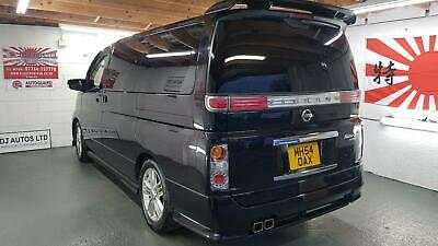 Nissan Elgrand Rider s 3.5 automatic 8 seater black jap import in stock