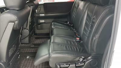 Nissan Elgrand 3.5 automatic 8 seater white MPV full black leather seats 2007