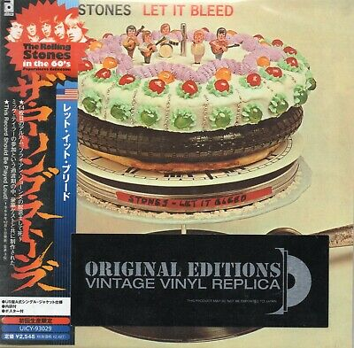 THE ROLLING STONES - Let It bleed - CD - EU / JAPAN 2006 - ABKCO ‎- UICY-93029