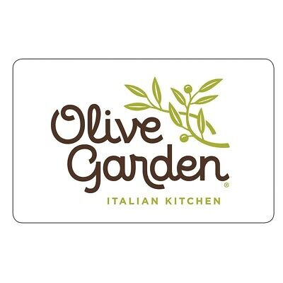 New Activated Olive Garden $50 Gift Card Shipped