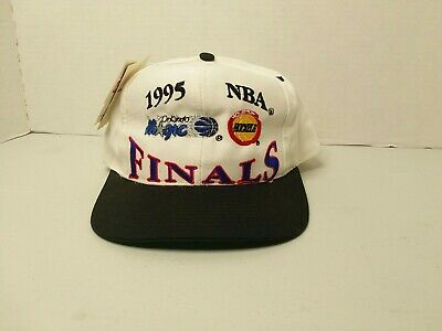 Vintage 1995 NBA Finals Orlando Magic vs Houston Rockets Snapback. Deadstock NWT