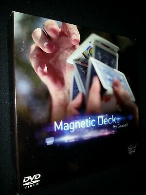 Magnetic Deck (DVD and Gimmick) by Granell Magic Inc - Magic Trick