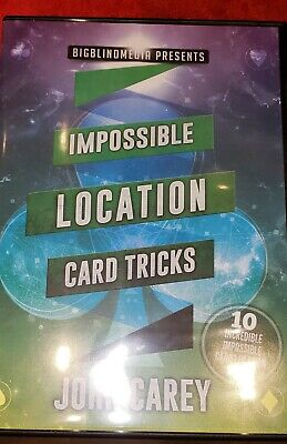 Impossible Location Card Tricks by John Carey - Magic DVD