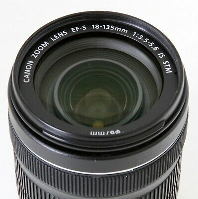 Canon EF-S 18-135mm f/3.5-5.6 STM IS Lens, Fast & Clean, Free Expedited Shipping