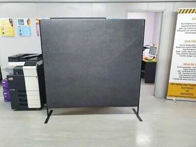 Budget Free Standing Screens Office Dividers X2