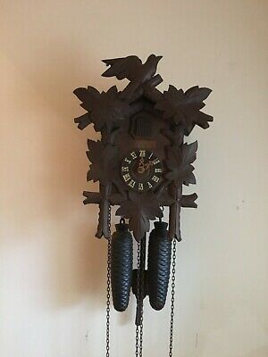 Black Forest 8day Schatz Cuckoo clock for spares or repair.