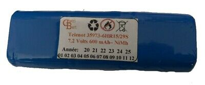 Telenot 35 973 6/N270AA 7.2Volts Nimh Compatible
