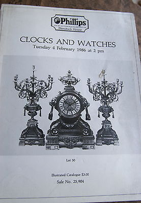 Antique Clocks & Watches   Auction Brochure. A Must Have For The Enthusiast