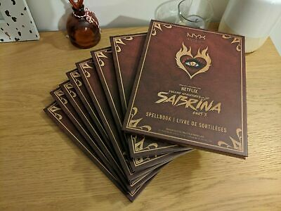 NYX Cosmetics Chilling Adventures Of Sabrina Spell Book Palette Limited Edition-