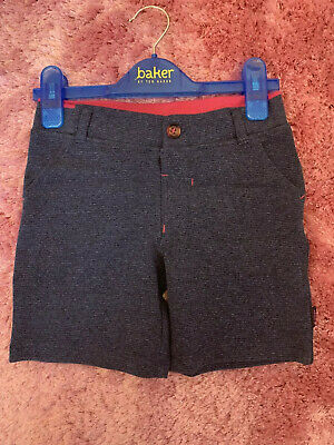 Ted Baker Boys Blue Shorts - 3-4 Years NEW