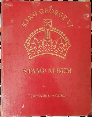 GVI Crown Album  1771 Used stamps  includes better High Cat Value  (TW86)