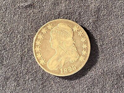 1825 50C Silver Capped Bust Half Dollar