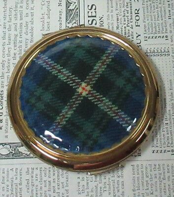 Vintage Tartan STRATTON Made in England Ladies Compact