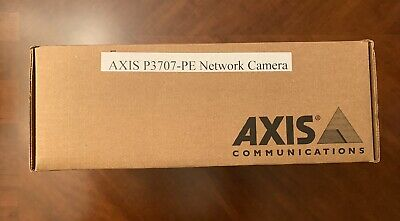 New Axis P3707-PE Network camera