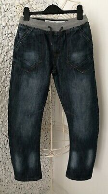 DENIM CO. boys age 10-11 years dark denim/jeans trousers/chinos hardly worn