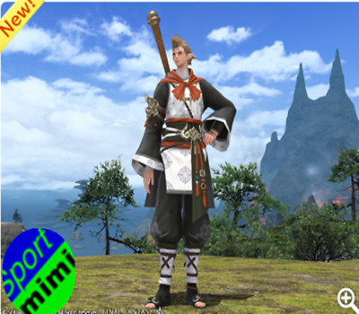 FFXIV Character Exclusive Eastern Journey Attire Item FF14 CDK FINAL FANTASY XIV