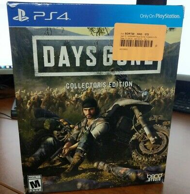 Days Gone Collectors Edition (Sony PlayStation 4, 2019)