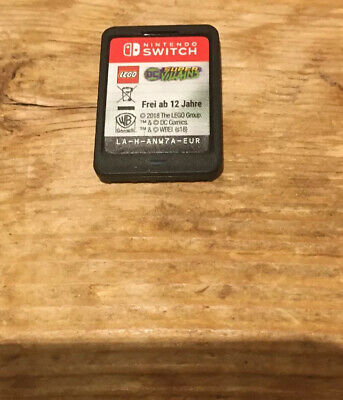 Lego dc super villains nintendo switch, Very Good Condition ( No Case)