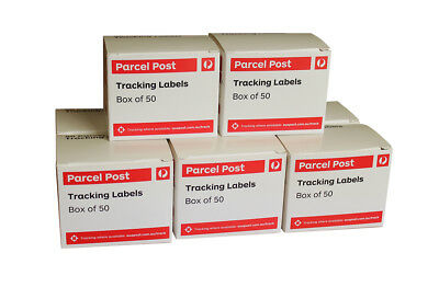 400 AUSTRALIA POST TRACKING LABELS For Domestic Parcels - (8 Boxes)