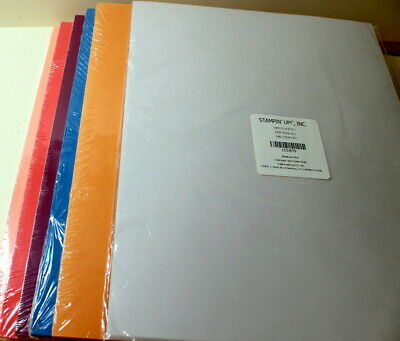 MIX M17 10X SCRAPBOOKINGPAPERS VELLUM FOR MAKING CARDS 30X15 CM 1//2 SIDED NEW