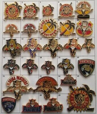 Different Teams (Florida Panthers) Nhl Hockey Logo Pin (Your Choice) G866