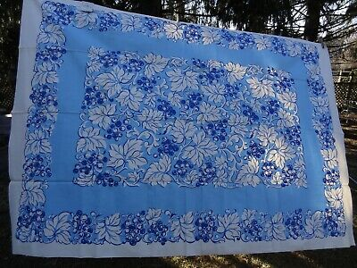 Vintage Tuscany Cotton Kitchen Tablecloth With Napkins (Unused)