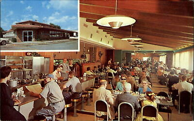 Town 'n Country Cafe Sioux Falls South Dakota mid-century modern~dated 1963