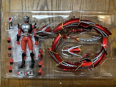 Used Bandai S.H.Figuarts Masked Kamen Rider Ryuki Ride Shooter PVC From Japan