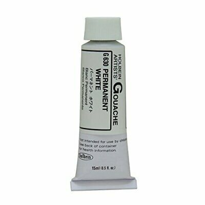 Holbein Artists Colors G630 Designers Gouache 15Ml Permanent White