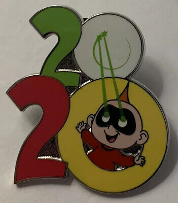 Disney Parks - 2020 Logo Year Dated - Jack Jack - The Incredibles