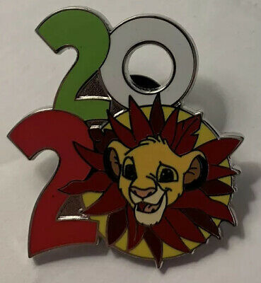 Disney Parks - 2020 Logo Year Dated - Simba The Lion King