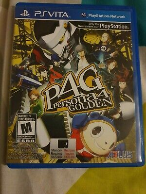 Persona 4 Golden (Sony PlayStation ps Vita, 2012)
