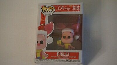 Funko POP! Disney Holiday: Piglet - Stylized Vinyl Figure 615 with New Protector