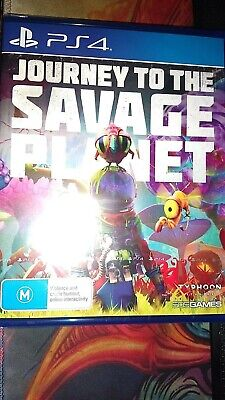 Journey to the Savage Planet PS4 Game STILL SEALED