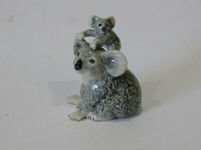 Vintage  Small Ceramic Koala And Cub